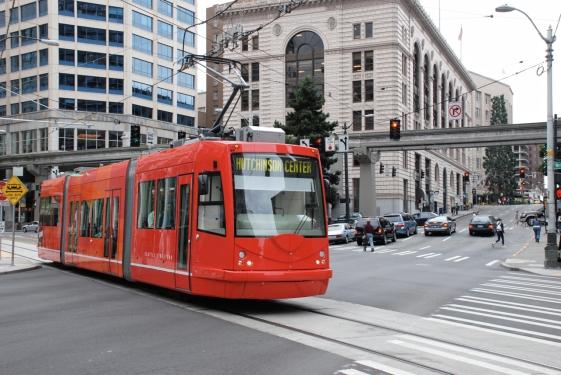 Seattle Streetcar 301