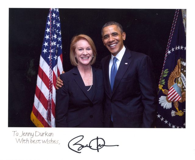 Durkan and Obama
